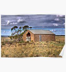 Old Barn - Sedan, Murraylands, South Australia Poster