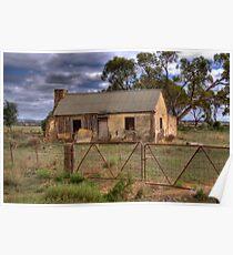 Derelict - Sedan, Murraylands, South Australia Poster