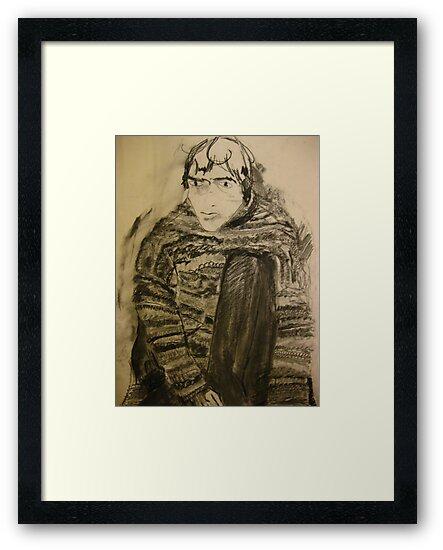big woolen jumper  by Alfred Gillespie
