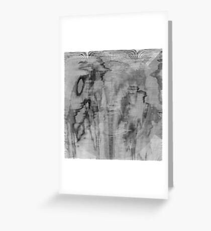 Symphony in Black and White Greeting Card