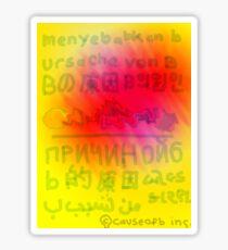 Worldwide Words Sticker