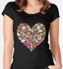 I Love Mexican Candy - Aquamarine Women's Fitted Scoop T-Shirt