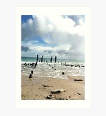 Port Willunga Art Print