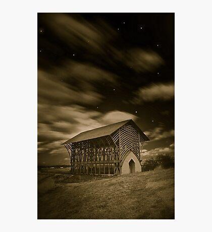 Shrine at Night (simulated) Photographic Print