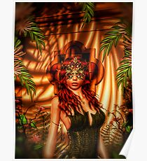 Tropical Masquerade Poster