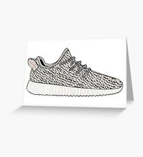 Yeezy Boost 350 Greeting Card