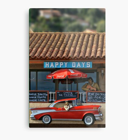 Happy Days Metal Print