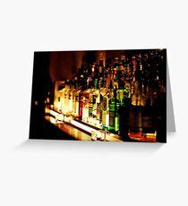 bar back office Greeting Card