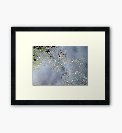 The Up Side of Down #3 Framed Print