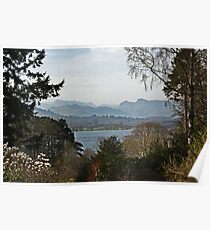 Lake Windermere from Brockhole Poster