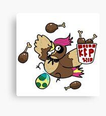 Kanto Fried Pidgeotto! Canvas Print