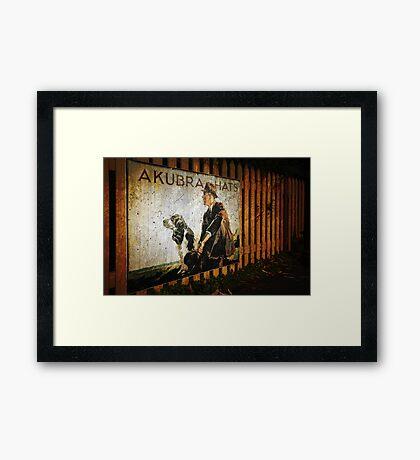 Akubra Hats Framed Print