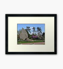 The Sophia M. Sachs Butterfly House Framed Print