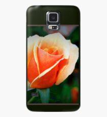 Peach rosebud Hülle & Klebefolie für Samsung Galaxy