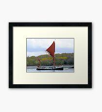 Set Sail Framed Print