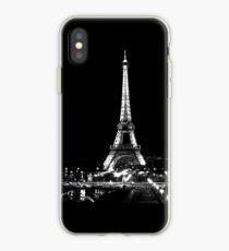 Eiffel Noir iPhone Case