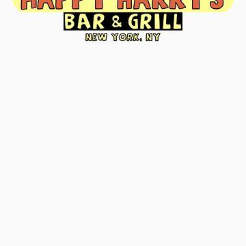 Happy Harry's Bar & Grill by windupman