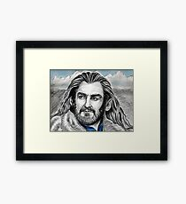 Richard Armitage, Thorin, King Under the Mountain Framed Print