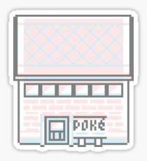 Pastel Pokécenter Sticker