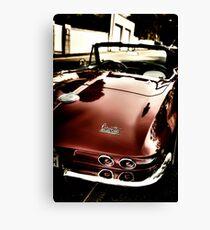 Oldtimer Stingray HDR Canvas Print