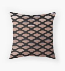Soapy Screen Throw Pillow