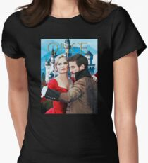 Captain Swan Fairy Tale Comic Poster 3 Womens Fitted T-Shirt