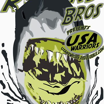 usa shark warriors by rogers bros by usala