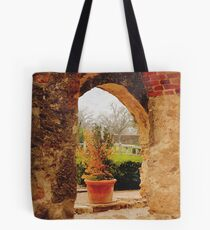 Archway in Digital Oil Tote Bag