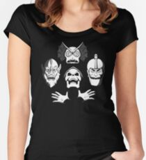 Bo-He-Man-ian Rhapsody Women's Fitted Scoop T-Shirt
