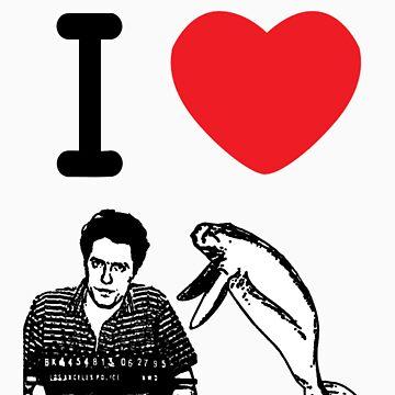I Love Hugh Manatee by KISSmyBLAKarts