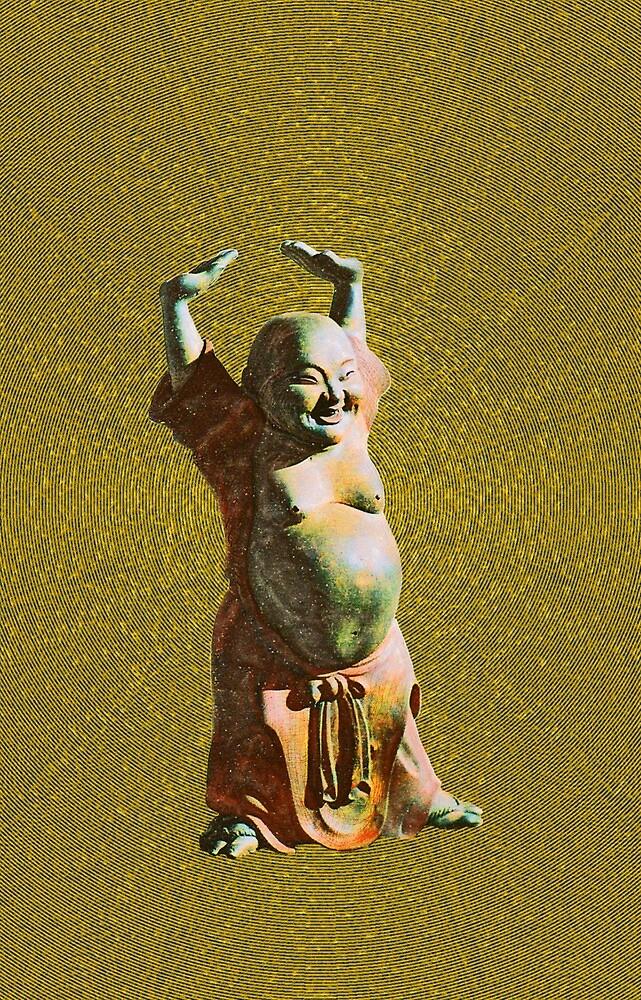 gleeful Buddha by DAdeSimone