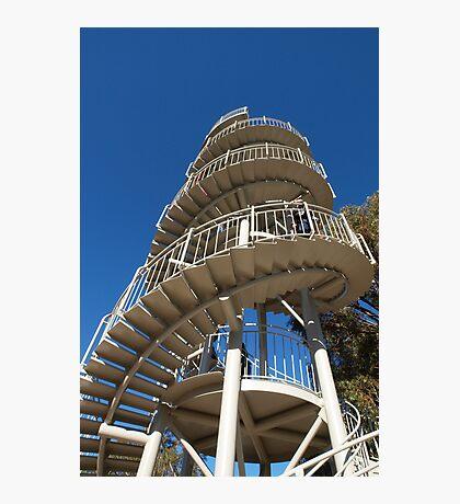 An Upward Spiral Photographic Print