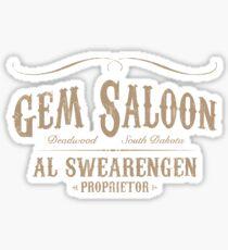Gem Saloon vintage Sticker