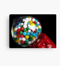 Miniature Bubble Gum Machine Canvas Print