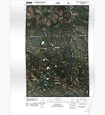 USGS Topo Map Washington State WA Bearhead Mountain 20110428 TM Poster