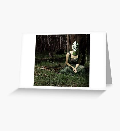 The Monster Garden Greeting Card