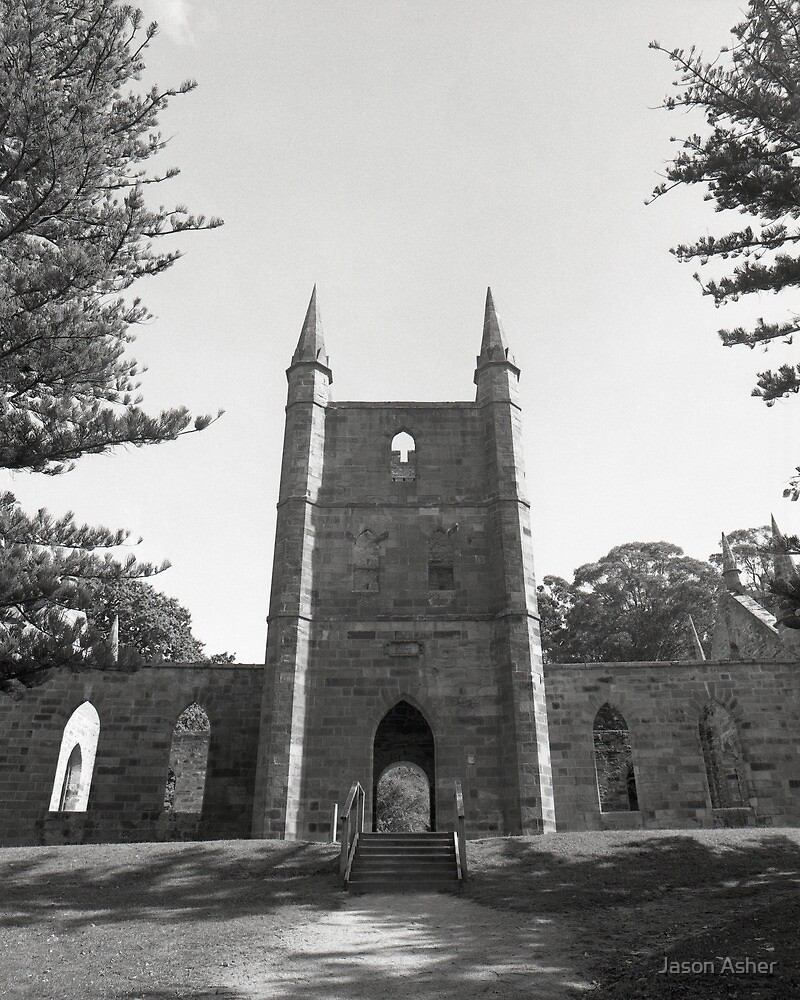 """Spires"" ∞ Port Arthur, Tasmania - Australia by Jason Asher"