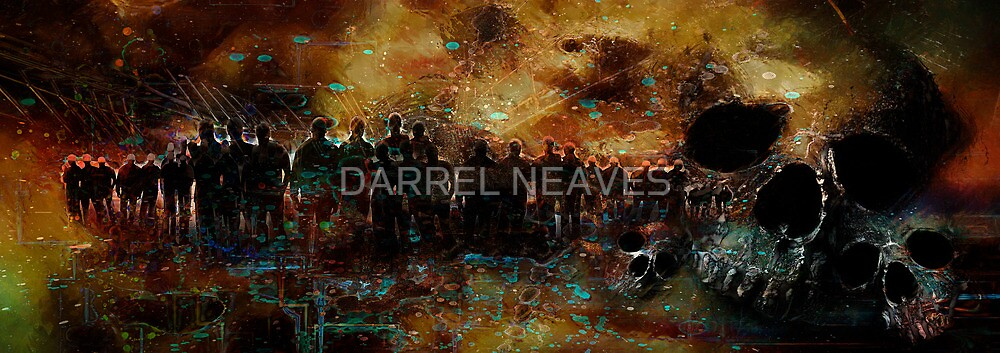 """valley of bones"" - Ezekiel 37:1-14 by DARREL NEAVES"