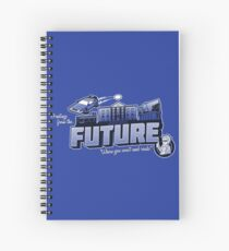 Greetings from the Future! Spiral Notebook