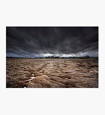 Storm Field Photographic Print