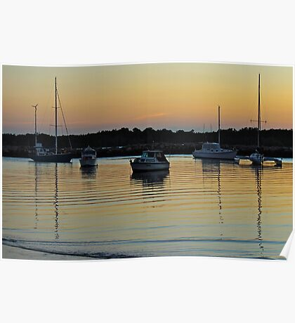 Day's End: Iluka Bay, NSW Poster