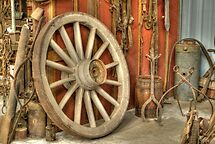 Chariot Wheel by Diego Re