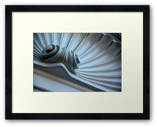 Scalloped Pediment by John Schneider