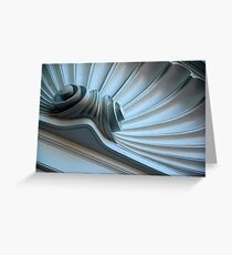 Scalloped Pediment Greeting Card