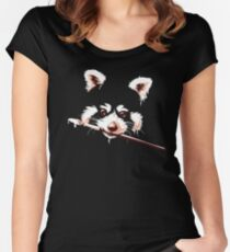 Ailuridae Women's Fitted Scoop T-Shirt