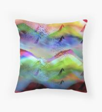 Ocean-Race Throw Pillow