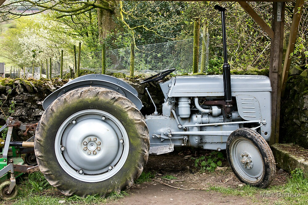 Our Good Old Tractor by Mark Battista