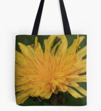 Yellow Flame Tote Bag