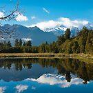 Lake Matheson, New Zealand by Jenny Setchell