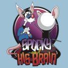 Spocky & His Brain by trekspanner